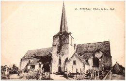 56 MUZILLAC - L'église De Bourg-Paul  (Recto/Verso) - Muzillac