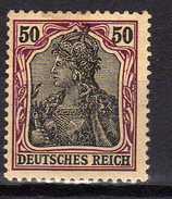 Deutsches Reich, 1915/19, Mi  91 II X, *, Geprüft [180217L]