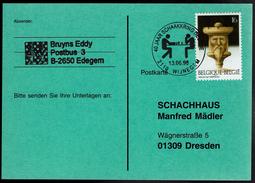 Schaken Schach Chess Ajedrez échecs - Wijnegem 13.06.1998 - Schaakkring Deurne - Echecs