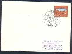 Germany Deutschland 1964 Card: Cavallo Horse Pferd Cheval Equestrian; Reit Und Springturnier; Dressur Meisterschaft