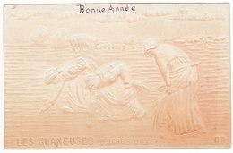 Prix Fixe - Les Glaneuses - Millet - 1908 - Carte En Reliefs # 11-10/6 - Femmes