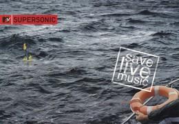 PROMOCARD N°  2806   MTV SUPERSONIC - Advertising
