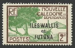 Wallis And Futuna, 2 C. 1930, Sc # 44, MNH - Unused Stamps