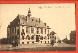 IAN-10  Middelkerke La Maison Communale  ANIME. Non Circulé. No 1960 - Middelkerke