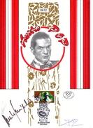FALCO ERSTTAGSBLATT 1994, Limitierte Auflage Nr.872 Von 1000 + 2 Originalunterschriften, Ersttag + Sonderstempel