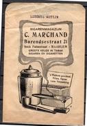 Classis Advertisement Sigarenmagazijn Marchand Barendsestraaat Palmstraat Haarlem Tabak & Cigaretten (z1) - Reclame