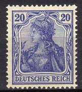 Deutsches Reich, 1915/19, Mi  87 II, ** [180217L]