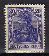 Deutsches Reich, 1915/19, Mi  87 II, * [180217L]