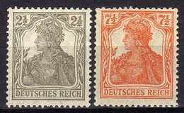 Deutsches Reich, 1916, Mi 98-99 ** [180217L] - Allemagne