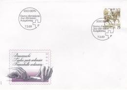 Switzerland FDC 1989 Dauermarke (T8A6)