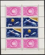 Romania 1975: Apollo-Sojuz Michel-Nr. 3275-76 = Blocks 123 (Yvert BF 120) ** MNH - Space