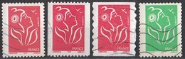 3070 Francia 2005-07 Marianne De Lamouche  Engr. Bobina Perf. 13. Auutoadesivo  Perf. 6 E 3/4 (ITVF) France Used