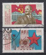 DDR - Michel - 1987 - Nr 3130/31  - Gest/Obl/Us