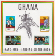 Ghana MNH Imperforated SS