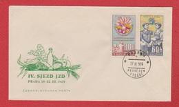 Tchecoslovaquie  --  Env Praha 27/11/1959