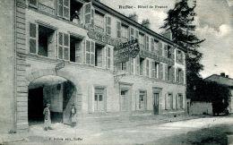N°42116 -cpa Ruffec -hôtel De France- - Ruffec