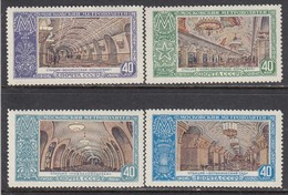 USSR 1952 - Moscow Subway Stations, Mi-Nr. 1659/62, MNH**