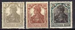 Deutsches Reich, 1918/1919, Mi 102 -103 *; 104 ** [180217L]