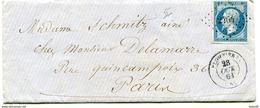 VOSGES De PLOMBIERES PC 2464 Sur N°14 Sur LAC De 1861 - 1849-1876: Période Classique
