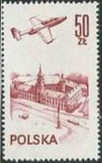 "Polen Polska 1978: Michel-Nr. 2540 Flugzeug ""TS-11 Iskra"" über Königsschloss Warschau ** MNH"