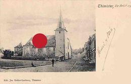 Thimister église  Cachet Postal De Thimister Clermont En 1904 - Thimister-Clermont