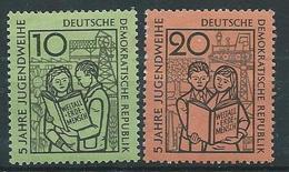 DDR  1959  Mi 680 - 681  5 Jahre Jugendweihe