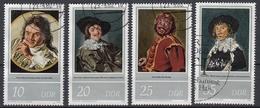 DDR - Michel - 1980 - Nr 2543/46 - Gest/Obl/Us