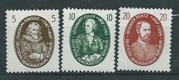 DDR  1959  Mi 6674 - 675  Berühmte Naturwissenschaftler Postfrisch
