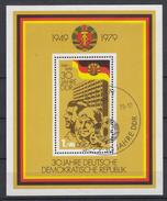 DDR - Michel - 1979 - BL 56 - Gest/Obl/Us