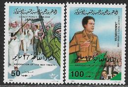 La Libye Neufs Sans Charniére, Trés Peu Gomme, MINT NEVER HINGED, HARDLY ANY GUM