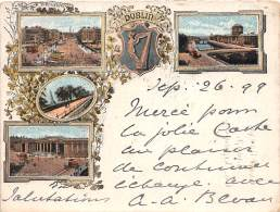 IRLANDE / Carte Illustrée - Litho - Dublin - 1899 - Format 12 X 9 Cm - Nordirland