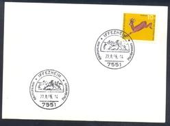 Germany Deutschland 1966 Card: Cavallo Horse Pferd Cheval Equestrian; Internationale Pferderennen Galop