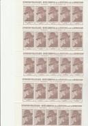 LOT DE 100 VIGNETTES JEAN- MOULIN  -EXPO MUSEE DE LA RESISTANCE ET DE LA DEPORTATION -VENISSIEUX 1979 - Commemorative Labels