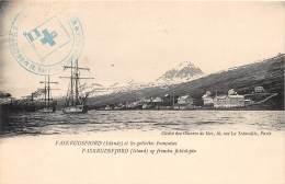 ISLANDE / Faskrudsfiord Et Les Goëlettes Françaises - Belle Oblitération