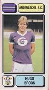 Panini Football Voetbal 83 1983 Sticker Autocollant Royal Sporting Club Anderlecht RSC RSCA Nr. 11 Hugo Broos - Sports