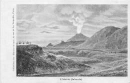 ISLANDE / L' Hekla - Volcan - Défaut (traces)
