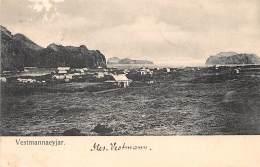 ISLANDE / Iles Vestmann - Beau Cliché - Défaut