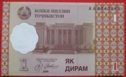 1 Diram 1999 (WPM 10a) - Tadschikistan