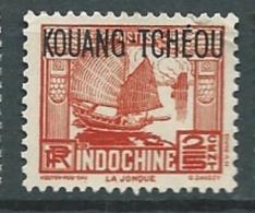 Kouang Tchéou   - Yvert N° 99  (*)  Cw23121 - Unused Stamps