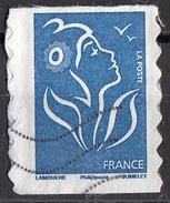 3389 Francia 2008 Marianne De Lamouche  Autoadesivo Perf. 6 E 3/4 (Phil@poste) France Viaggiato Used