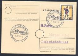 Germany Deutschland 1958 Card: Cavallo Horse Pferd Cheval Equestrian; Internatinales Pferderennen Horce Racing Iffezheim