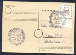 Germany Deutschland 1959 Card: Cavallo Horse Pferd Cheval Equestrian; Deutsches Spring Und Fahr Derby; Jumping