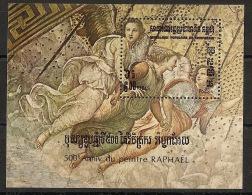 Kampuchea - 1983 - Bloc Feuillet N°Yv. 37 - Raphael - Neuf Luxe ** / MNH / Postfrisch