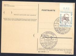 Germany Deutschland 1959 Card: Cavallo Horse Pferd Cheval Equestrian; 10 CHI Reit Und Fahrturnier; Jubiläums Turnier