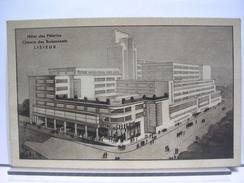 14 - LISIEUX - GRAND HOTEL DES PELERINS - CHEMIN DES BUISSONNETS - CARTE PUBLICITAIRE - Publicités