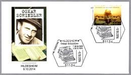 OSKAR SCHINDLER - Maquina De Escribir - Typewriter - Judaismo - Judaica. Hildesheim 2014