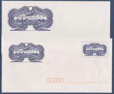 = Enveloppe Type Poste Aérienne N°15 Entier Validité Monde Avec Carte Lot 0401965 - Listos A Ser Enviados: Otros (1995-...)