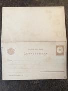 B1 Ungarn Hungary Hongrie Ganzsache Stationery Entier Postal Mi. P 16 Xx