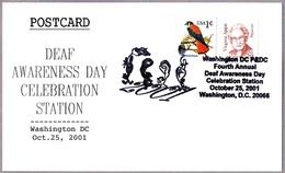 DEAF AWARENESS DAY CELEBRATION. Washington DC 2001