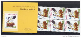 SLOVAKIA 2003 World Children's Day  Booklet With 10 Stamps MNH / **.  Michel 457, MH 0-46 - Slovakia